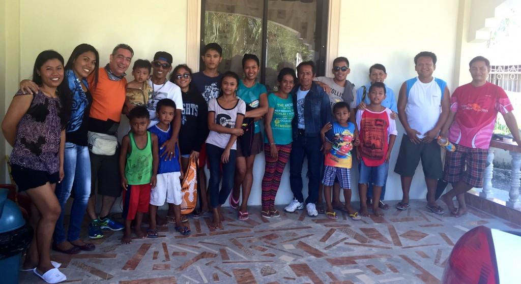 Meet the Lambug Beach Homestay Family